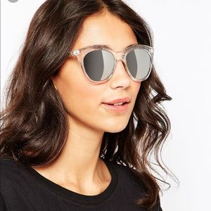 6b7c9904f3 Quay Australia Accessories - Quay Isabell Cat Eye Sunglasses Clear